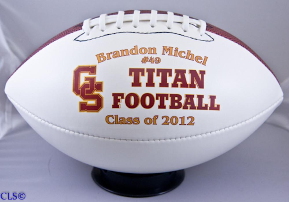 Personalized Fullsize Football