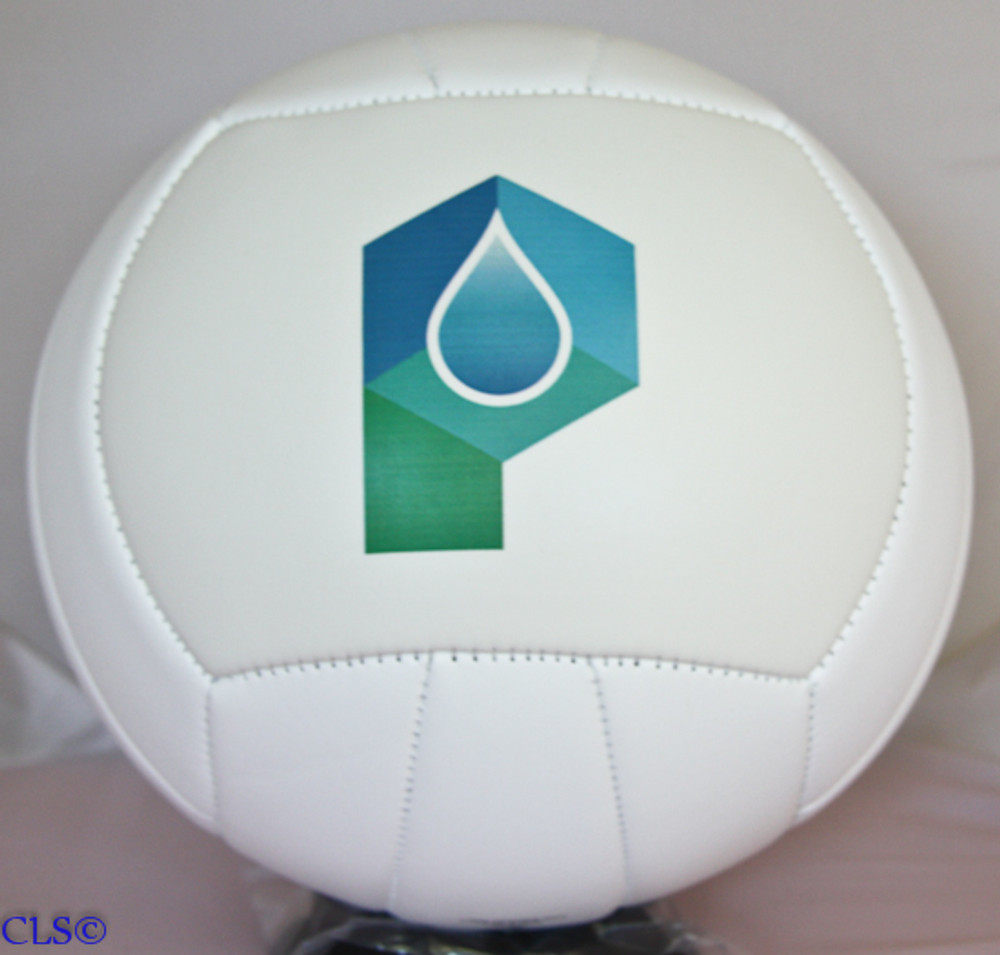 Personalized Volleyball with company logo