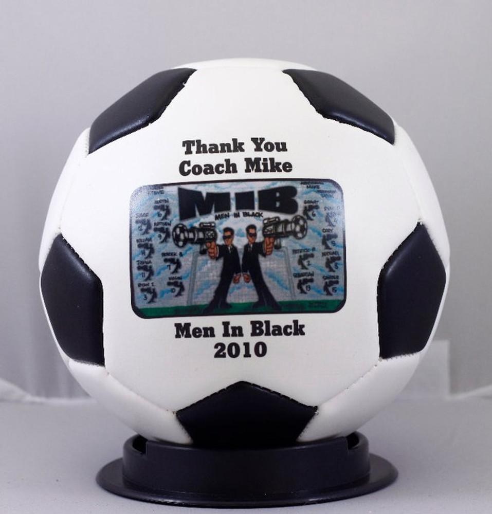 Mini Soccerball Thank you coach memento!