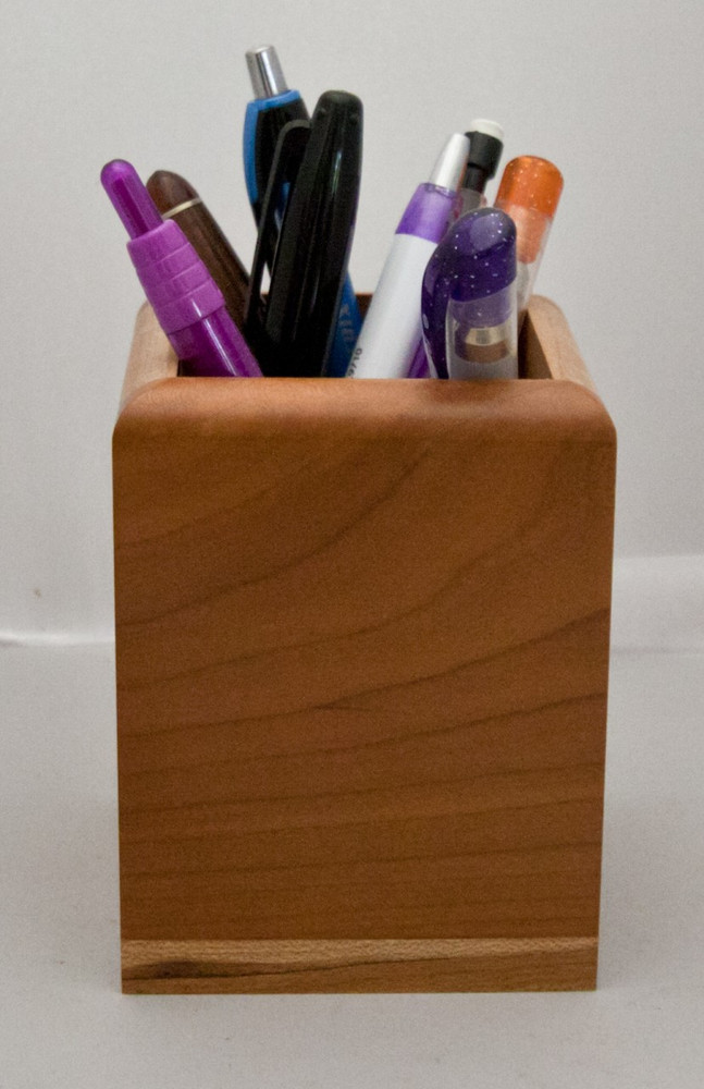 * Limited Availability* Custom engraving of images and text makes this Pencil/pen Holder the perfect corporate gift.