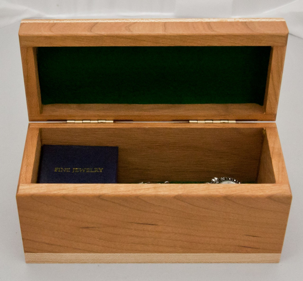 Personalized Tall Small Wood Box