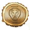 Custom warrior code gym commemorative plaque.