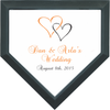How about home plates for your wedding?!