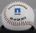Outstanding 4th quarter custom corporate baseball gift