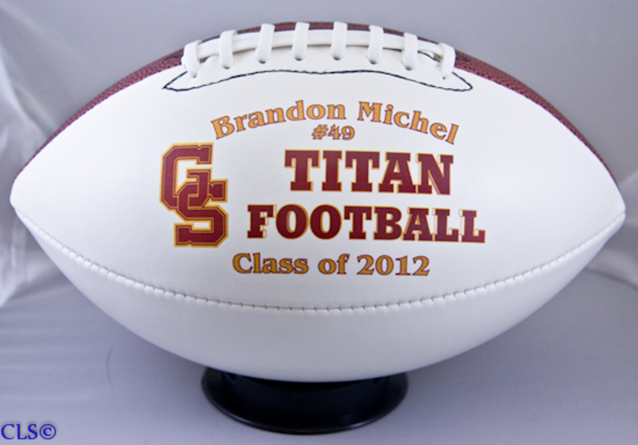 Personalized Fullsize Football