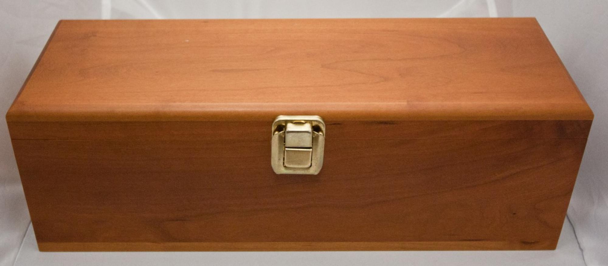 Personalized Wood Wine Box