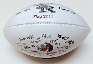 Signature footballs make great Thank You Coach gifts for their ability to let each and every player add their autograph.