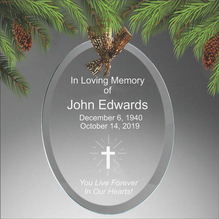 Personalized Memorial Ornament
