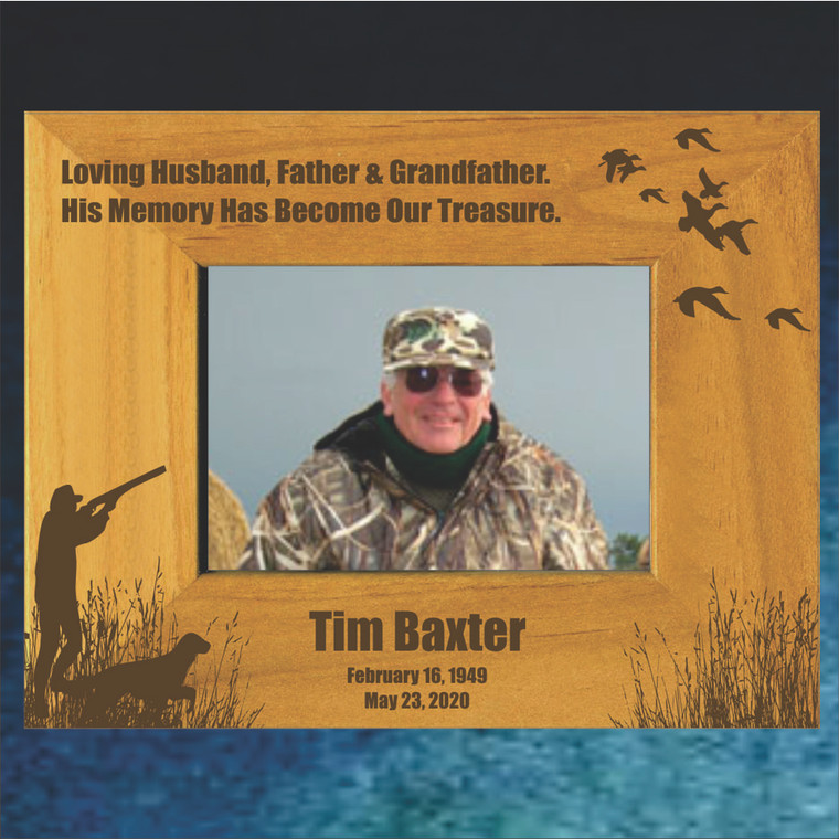 Waterfowler Memorial Picture Frame