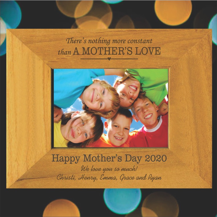 A Mother's Love Personalized Picture Frame - Mother's Day Gift