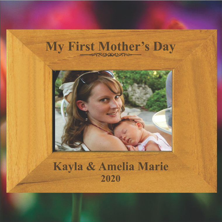 My First mother's Day Personalized Picture Frame