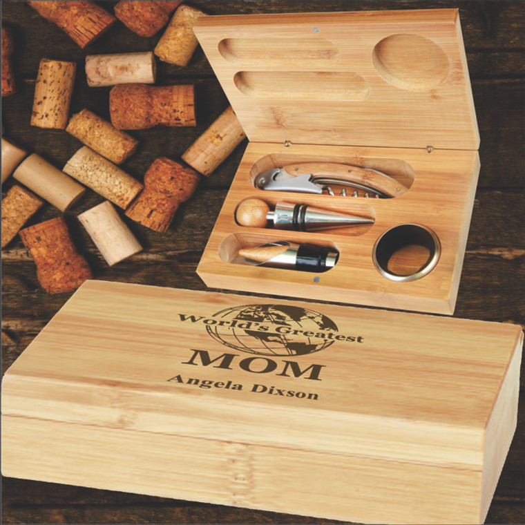World's Greatest Wine Tool Gift Set For Mom
