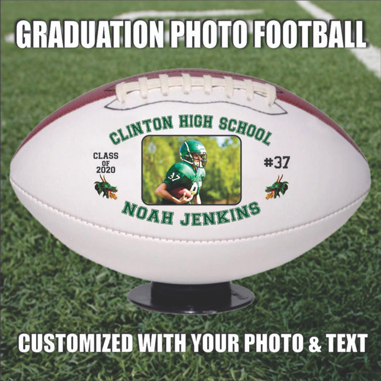 Graduation Photo Football