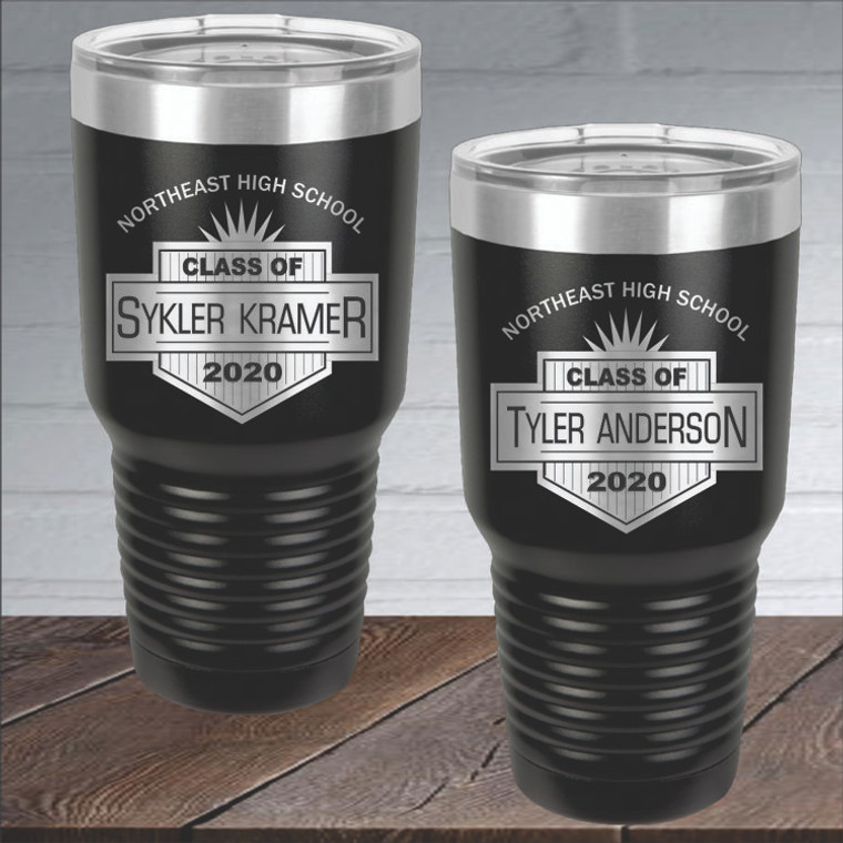 Personalized Graduation Drink Tumbler