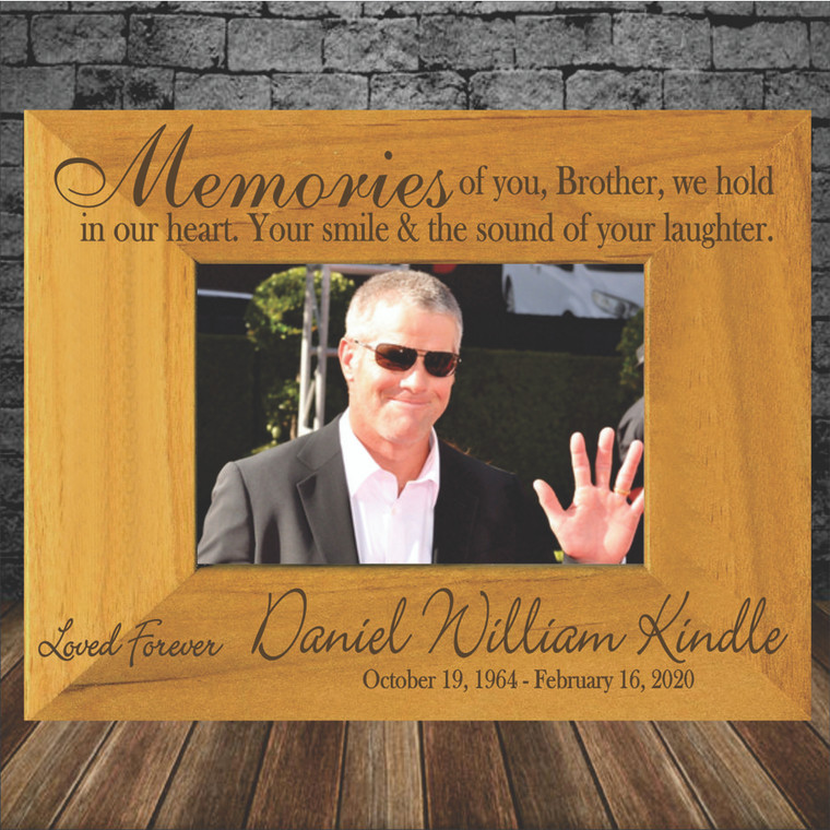 Memorial of Brother Memorial Picture Frame
