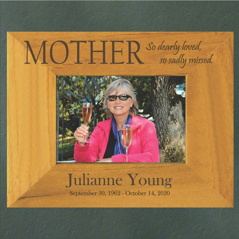 Mother Personalized Memorial Picture Frame