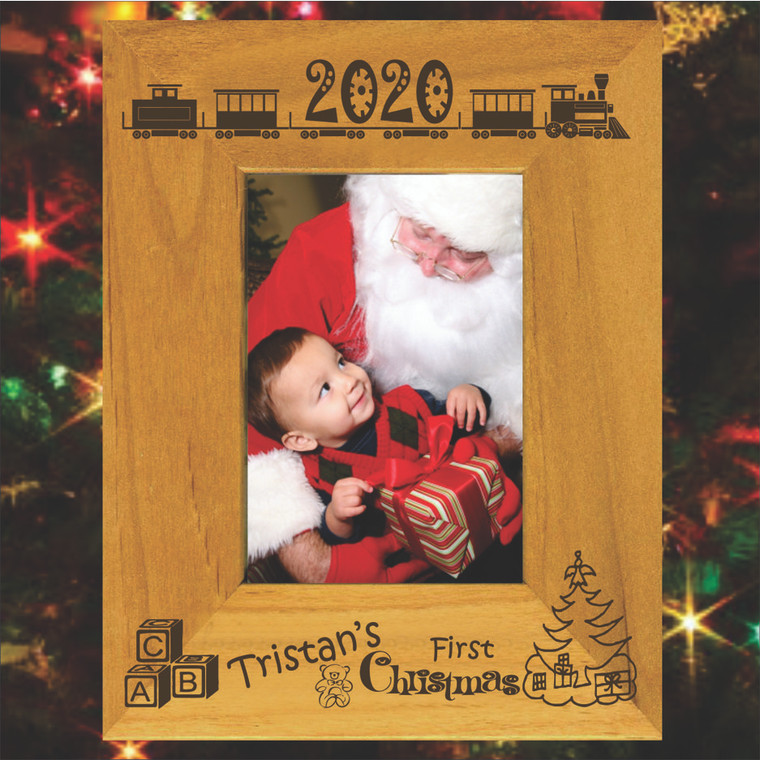 Kid's Christmas Personalized Picture Frame