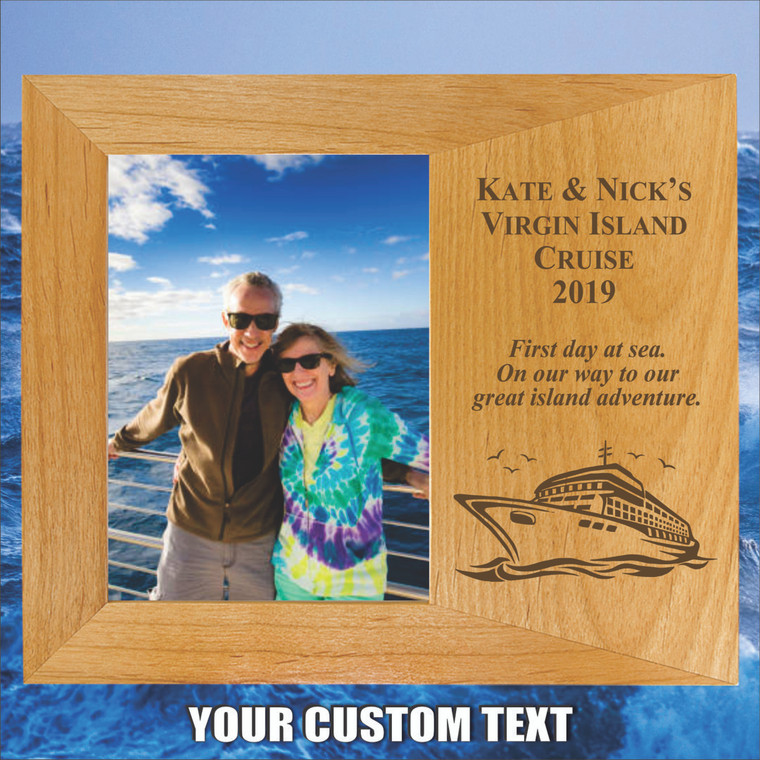 Cruising Personalized Picture Frame