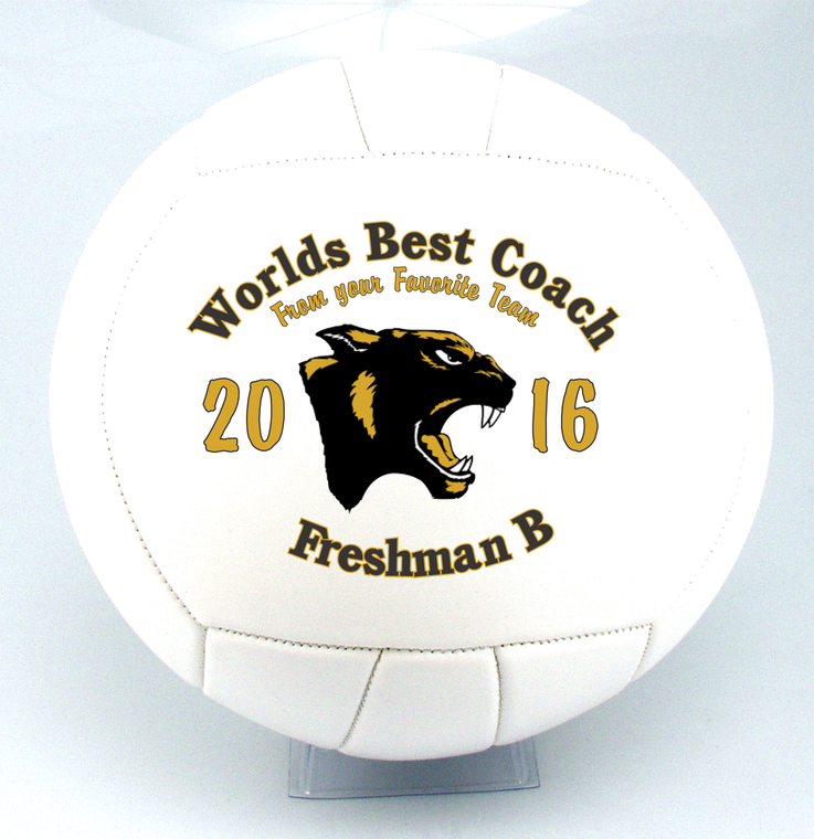 Personalized Volleyball Coach Gifts!