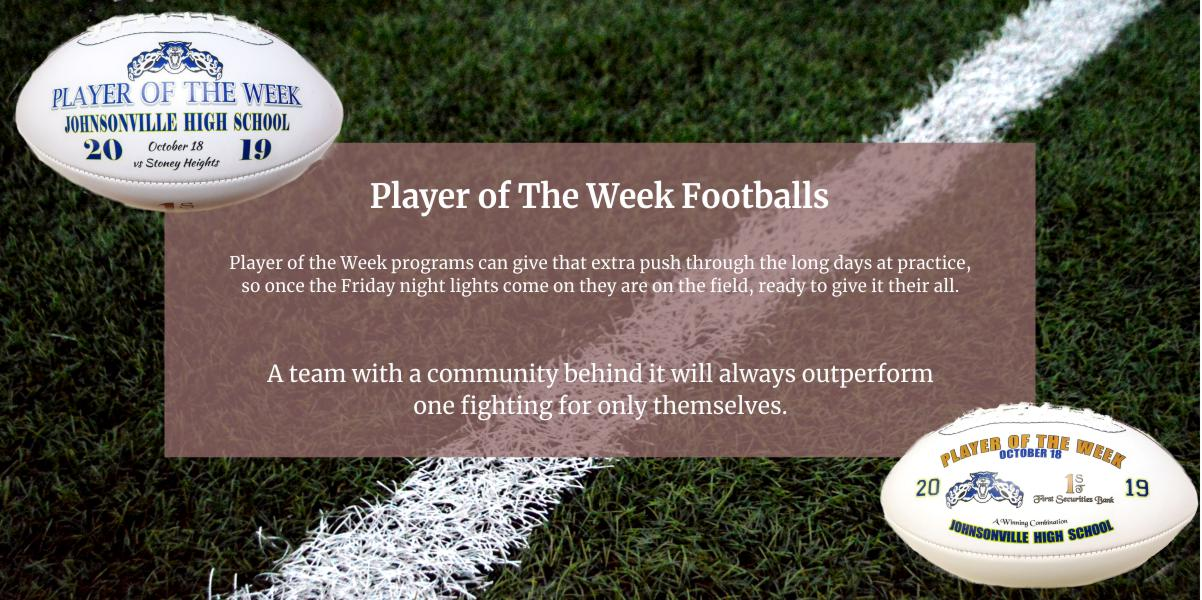 Player of the Week Banner