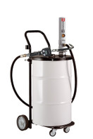 SAMOA Pumpmaster 2, 3:1 Ratio Air Operated Drum Mounted Mobile Oil Dispenser for 50 Litre Drums