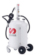 SAMOA Pumpmaster 2, 3:1 Ratio Air Operated Self-Contained 70 Litre Mobile Oil Dispenser