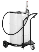 SAMOA Pumpmaster 2, 3:1 Ratio Air Operated Drum Mounted Mobile Oil Dispenser for 205 Litre Drums