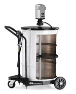 SAMOA Pumpmaster 35, 60:1 Ratio Air Operated Mobile Grease Package for 185kg Drums