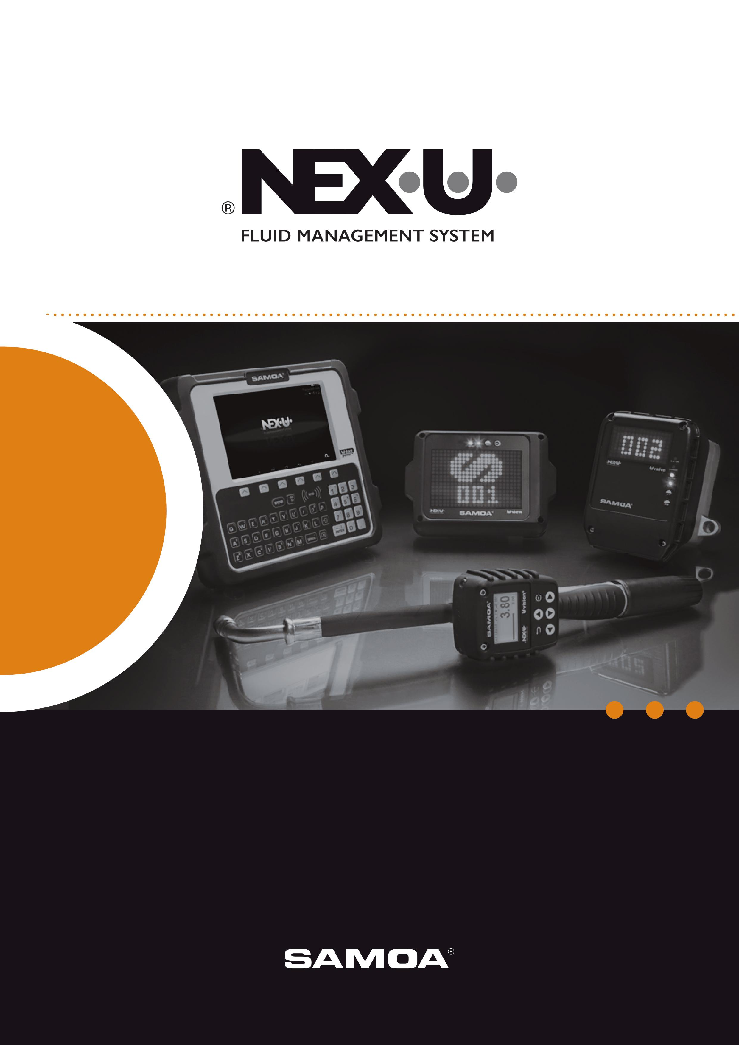 SAMOA NEXU Oil Monitoring Brochure Cover