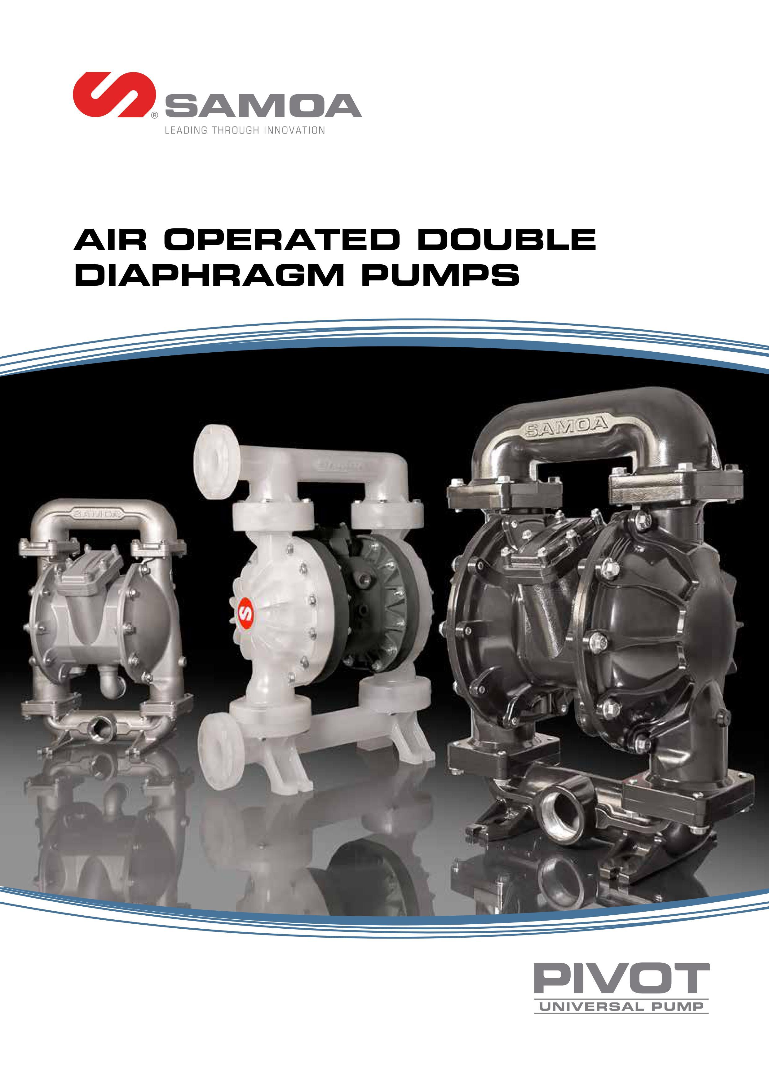 SAMOA Classicflo® AODD Pump Catalogue