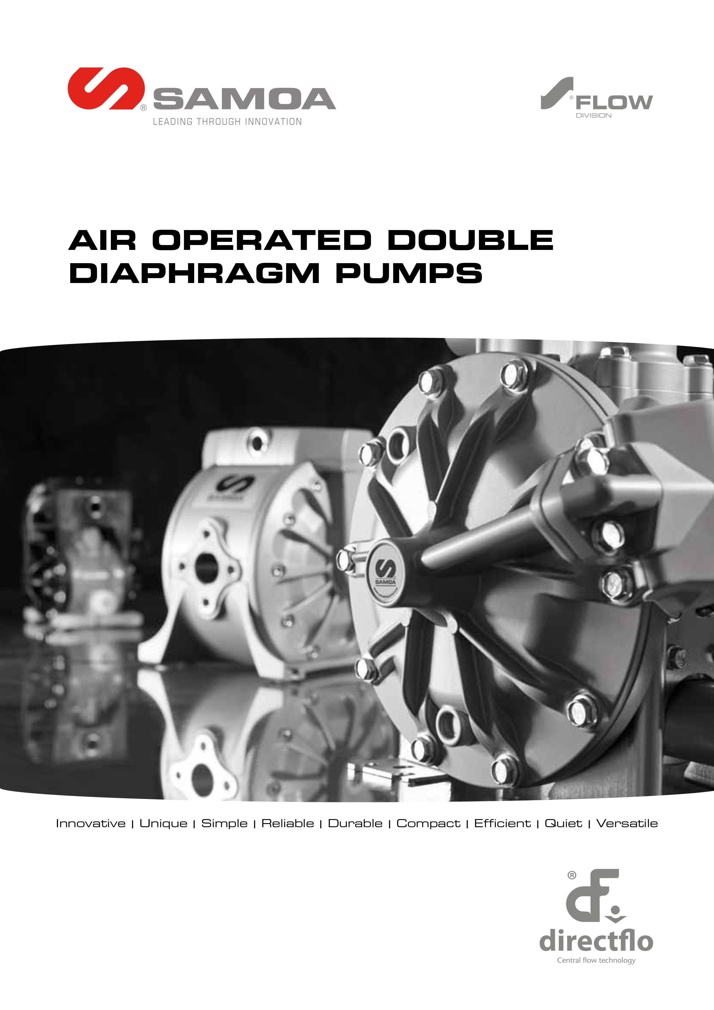 SAMOA Directflo AODD Pump Catalogue