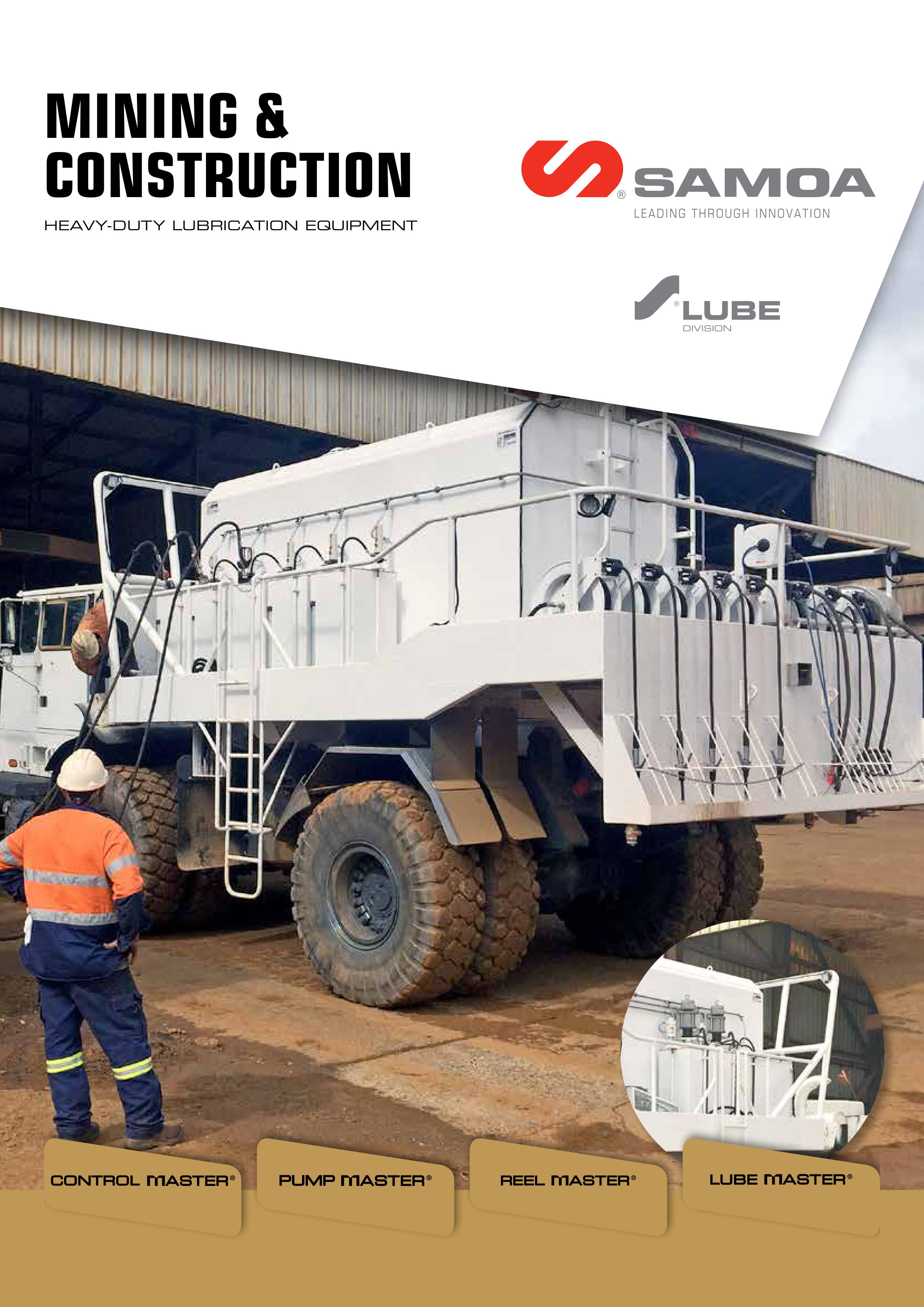 SAMOA Mining & Construction Brochure Cover