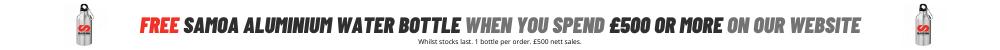 SAMOA Ltd UK Free Water Bottle Promotion