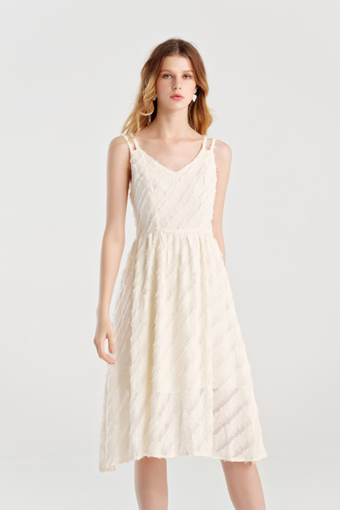 Jacquard Fit&Flare Dress