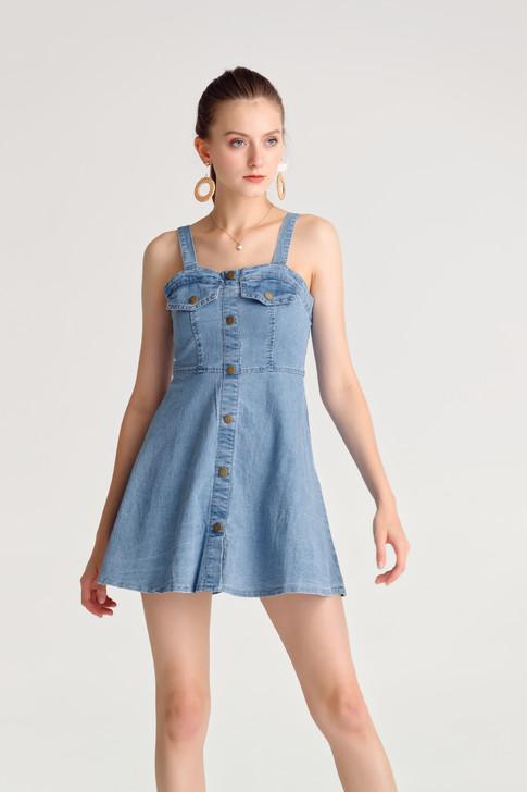 Denim Sweet Heart Dress