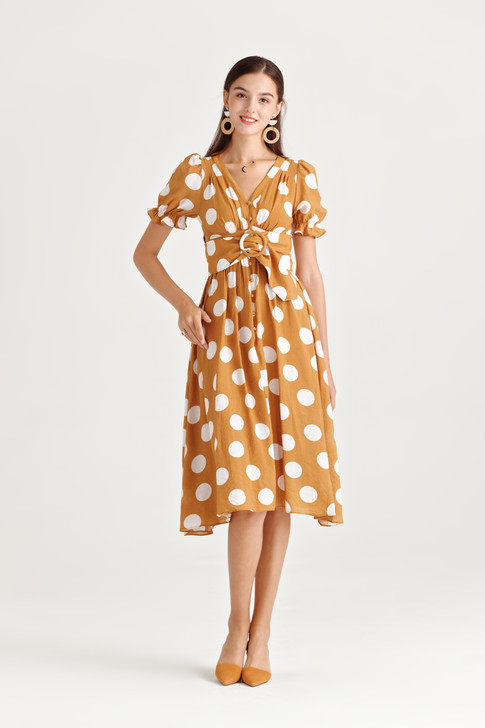 Big Dot Fit&Flare Dress