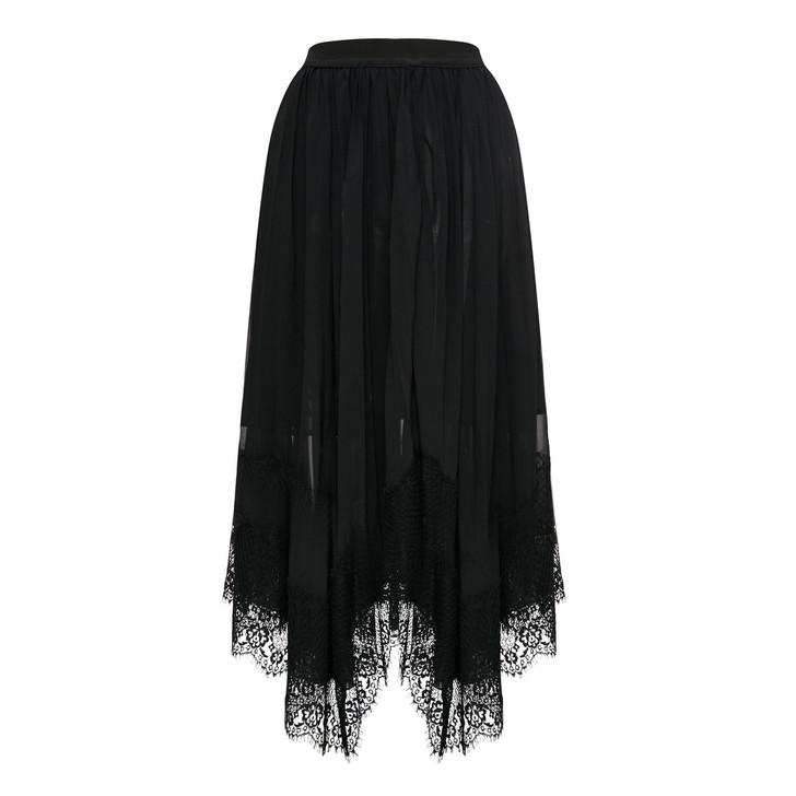 Chiffon Pleats Skirt