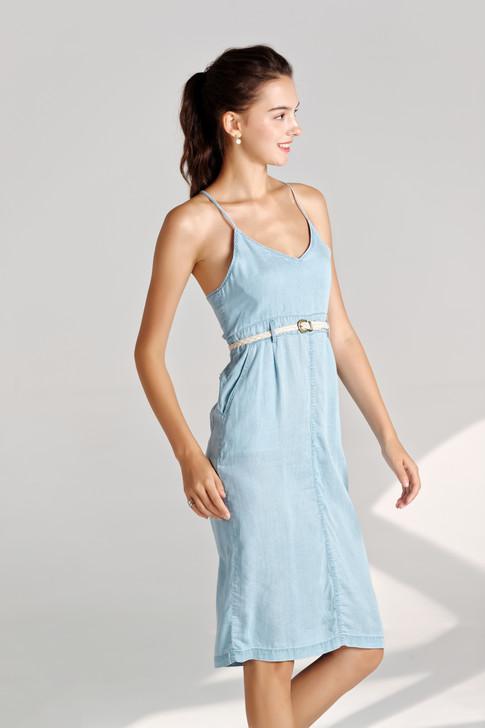 Denim Cami Dress