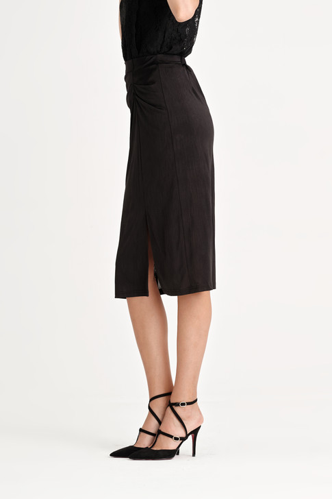 Satin Shirring Skirt