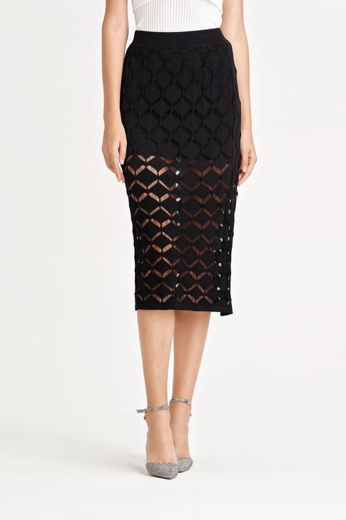 Crochet Knit Skirt
