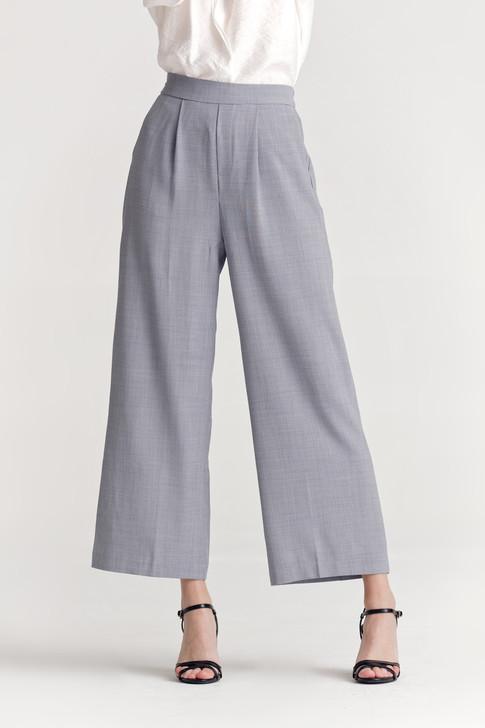 Melange Wide Leg Pants