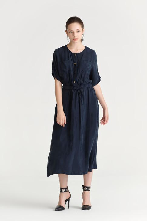 Taffeta Safari Dress