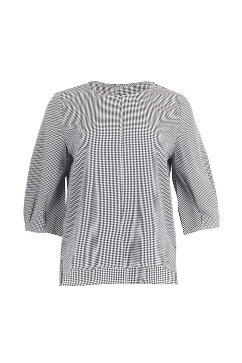 Check Volume-Sleeve Top