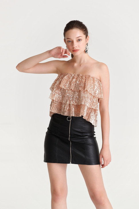 Sequin Layered Camisole