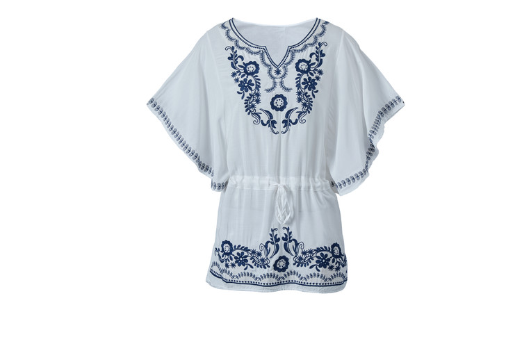 Embroidery Caftan Top