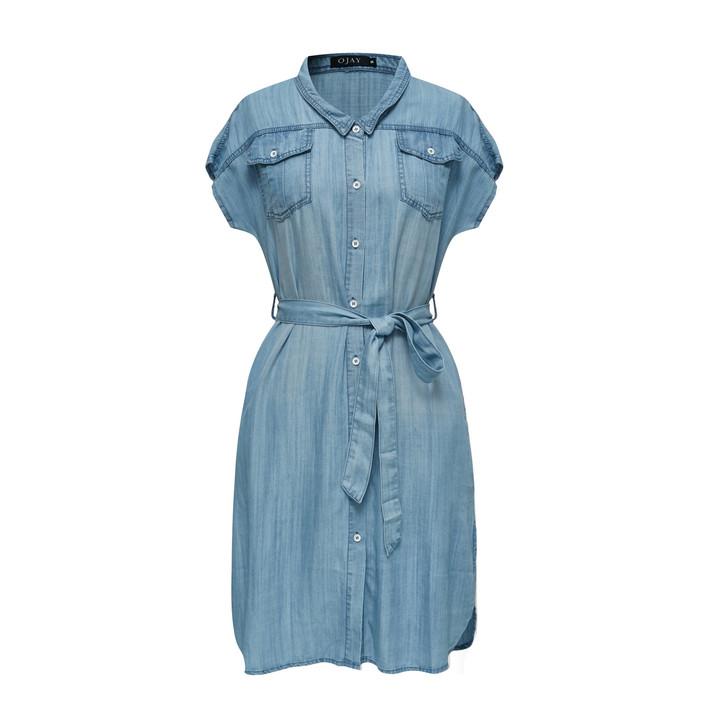 Denim Loose-Fit Dress