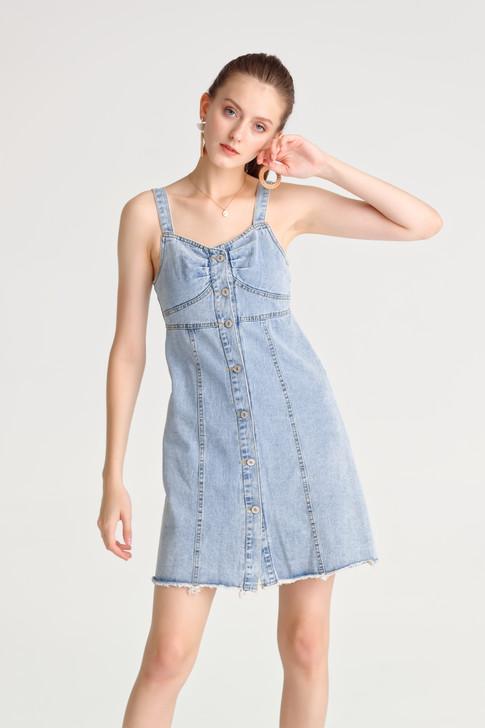 Denim Pinafore Dress_10062