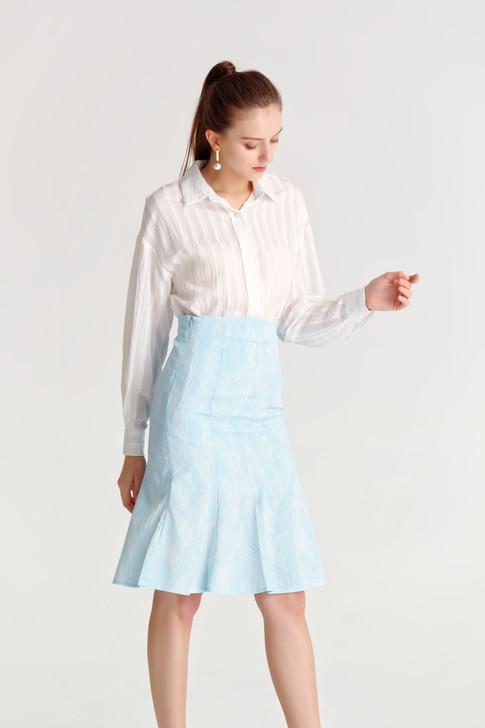 Sheer Stripe Shirt(10515)