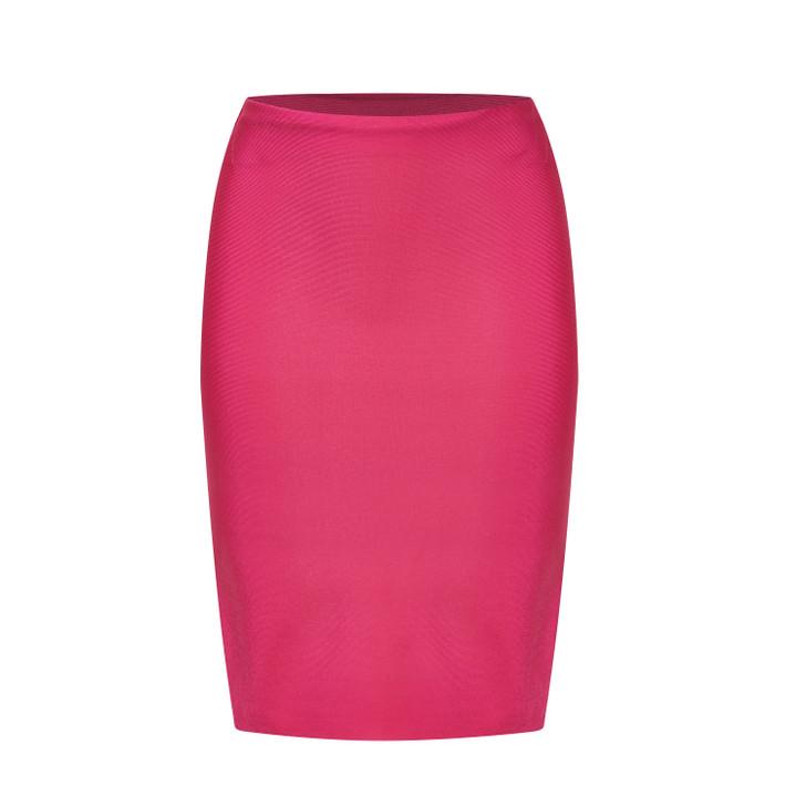 Stretch slimming tube skirt
