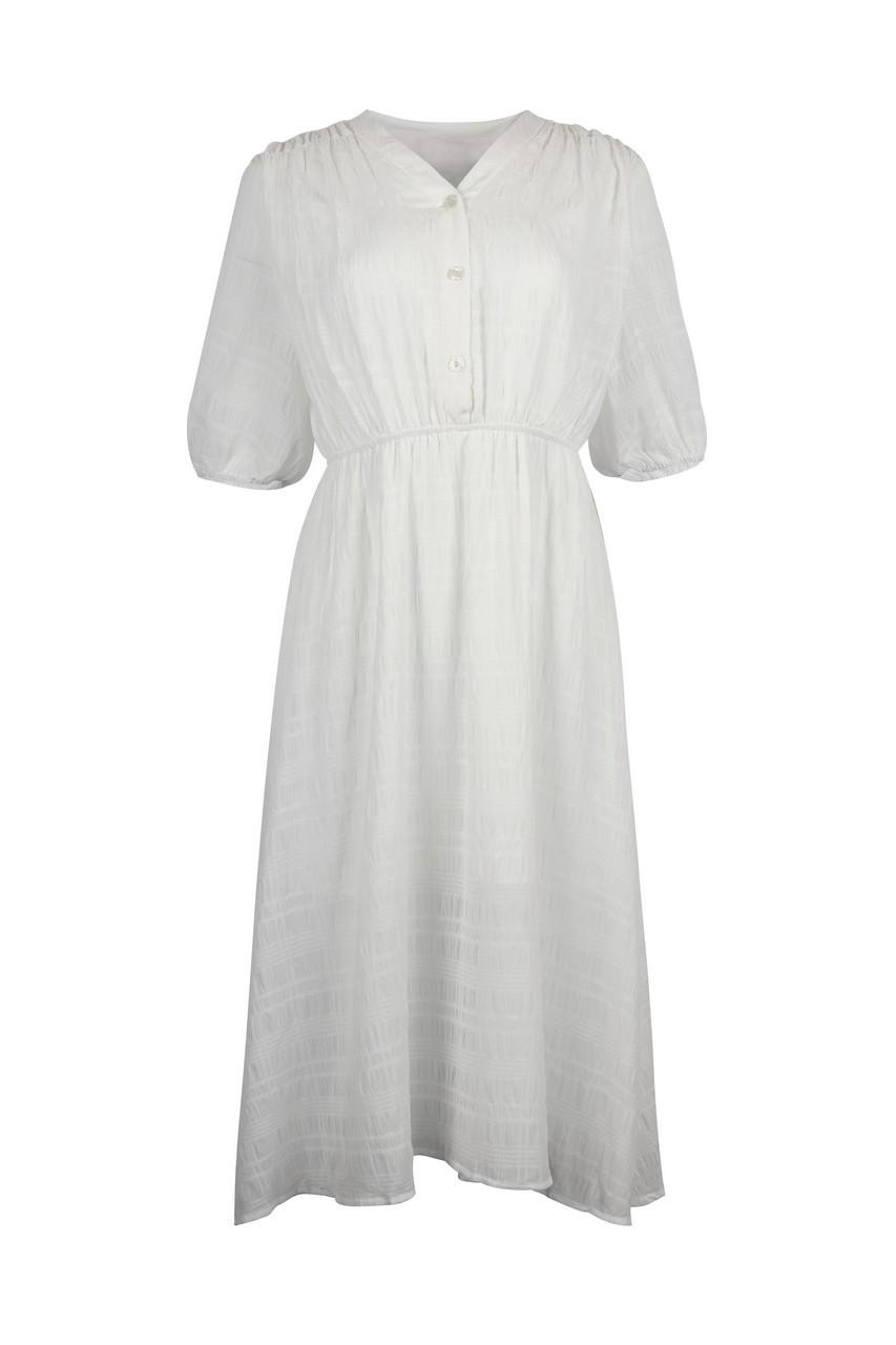 Jacquard Chiffon Dress